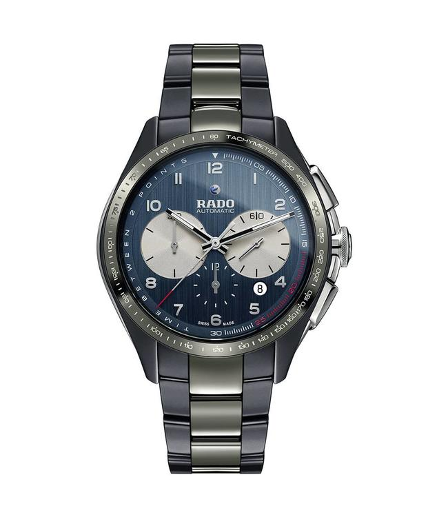 Rado XXL Hyperchrome Automatic Chronograph Match Point Limited Edition heren horloge R32022102