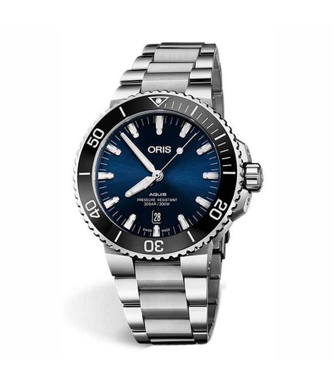 Oris Aquis Date Automatic heren horloge 0173377304135-0782405PEB