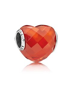 Pandora Orange Shape of Love 796563OCZ