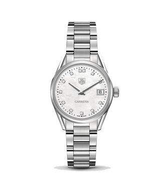 Tag Heuer Carrera dames horloge Diamonds WAR1314.BA0778
