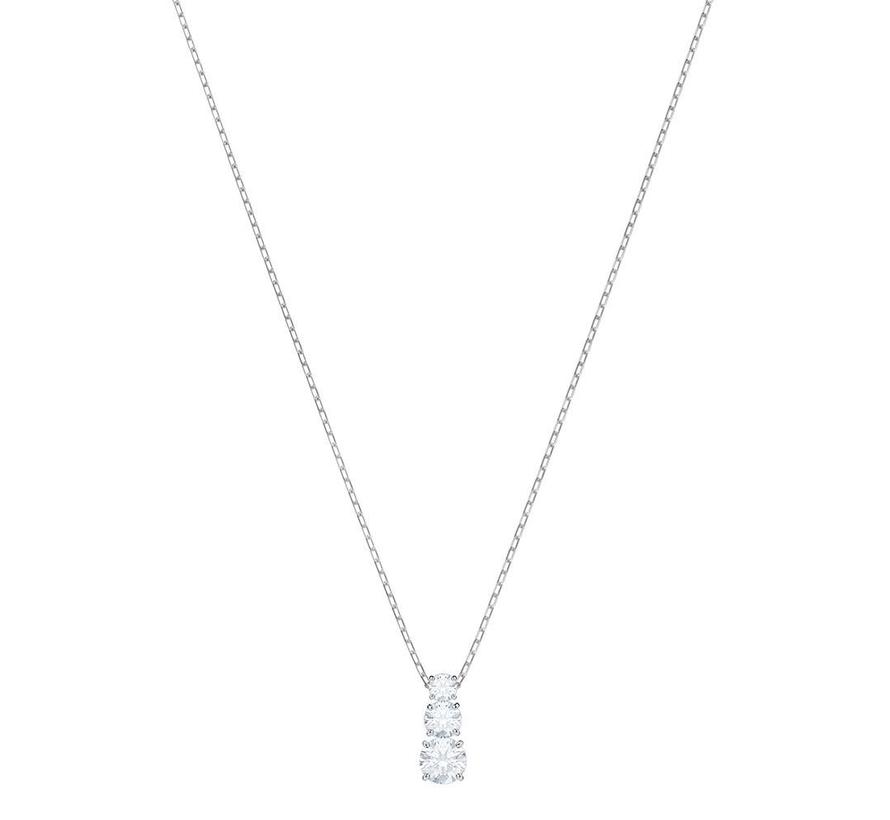 Attract Trilogy pendant round silver 5414970