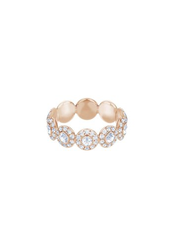 Swarovski Angelic ring band rose