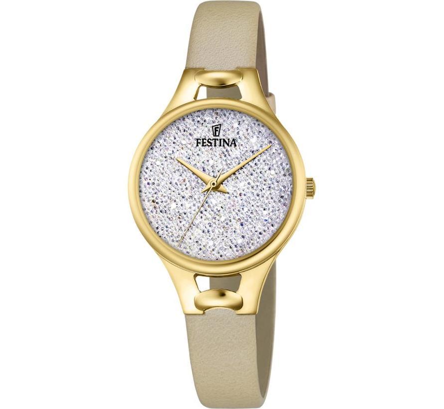 Mademoiselle dames horloge F20335/1