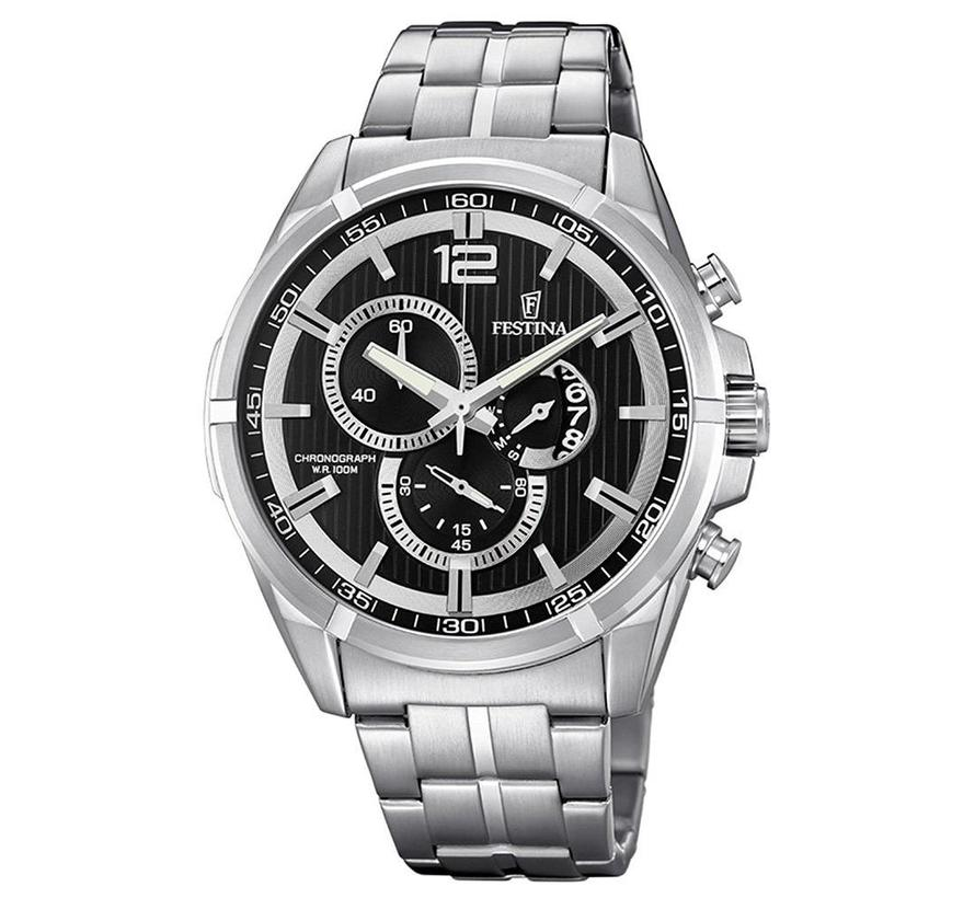 Sport Chronograph heren horloge F6865/2