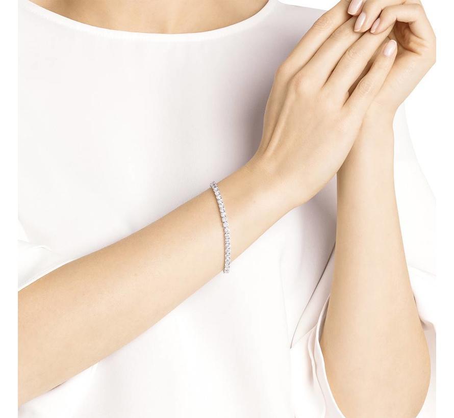 Tennis bracelet round deluxe 5409771