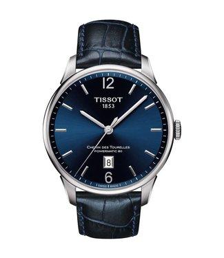 Tissot Chemin des Tourelles Powermatic 80 heren horloge T0994071604700