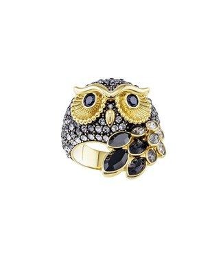 Swarovski March ring Owl