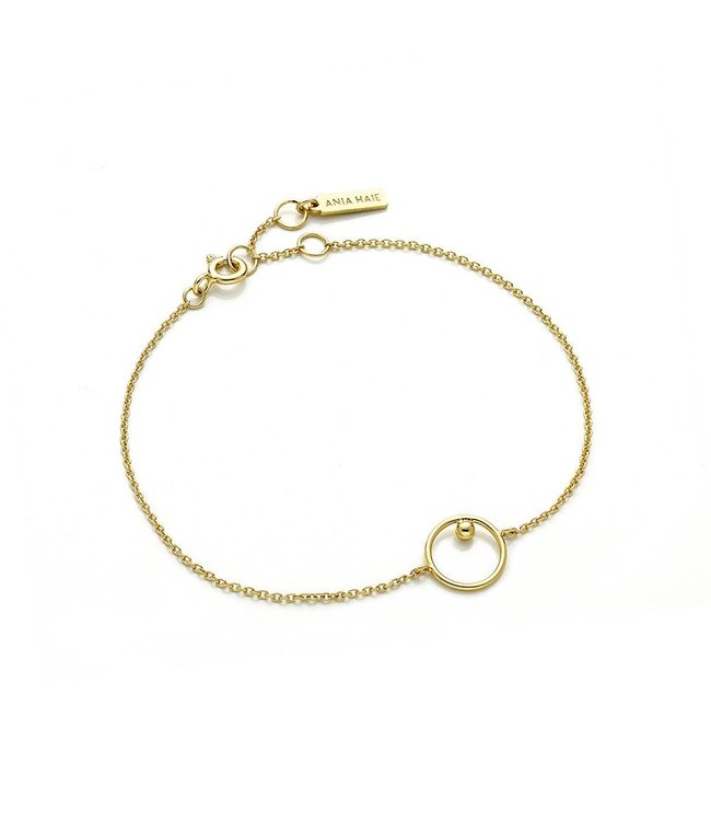 Ania Haie Out of this world chain circle bracelet B001-03G