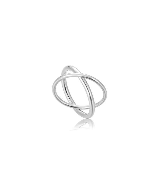 Ania Haie Modern minimalism double wrap ring R002-01H
