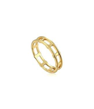Ania Haie Modern Minimalism Bar ring R002-02G