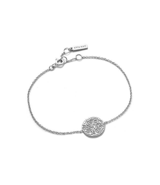 Ania Haie Coins Chain bracelet silver B009-04H