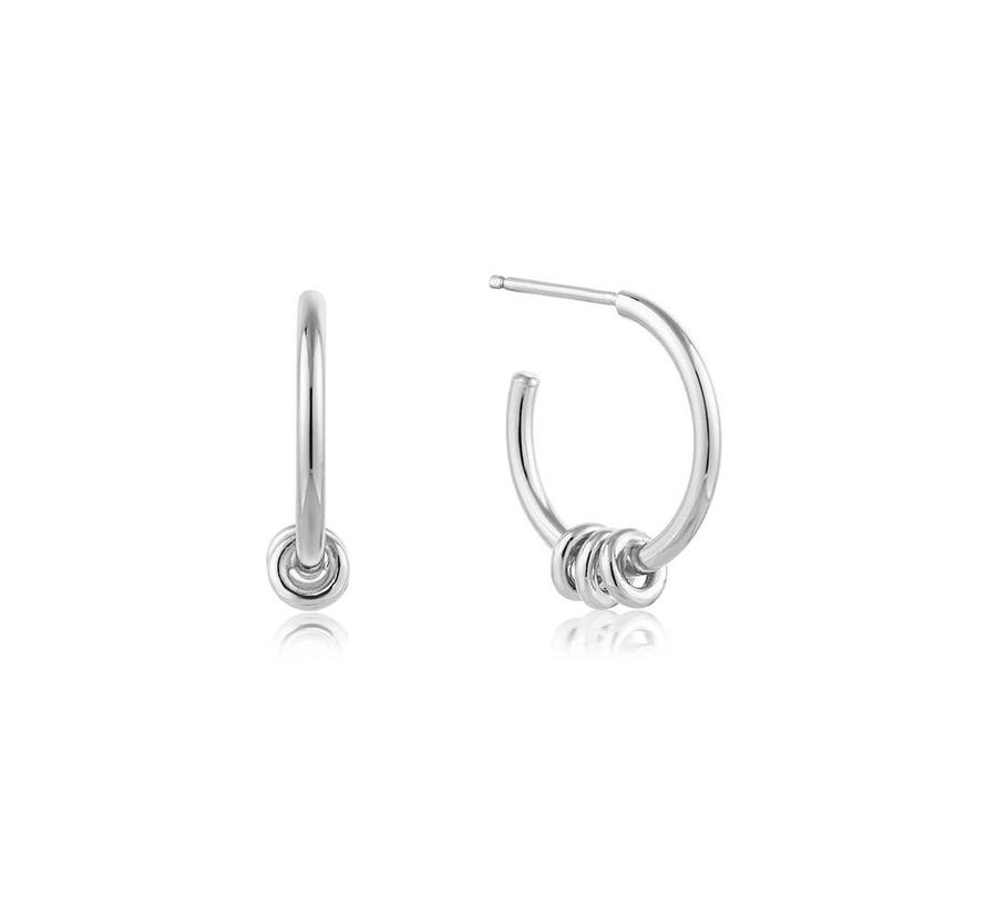 Modern Minimalism Hoop earrings E002-05H