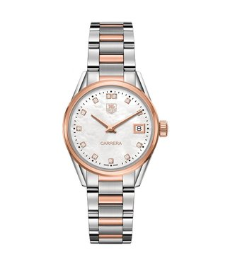 Tag Heuer Carrera Diamonds dames horloge WAR1352.BD0779