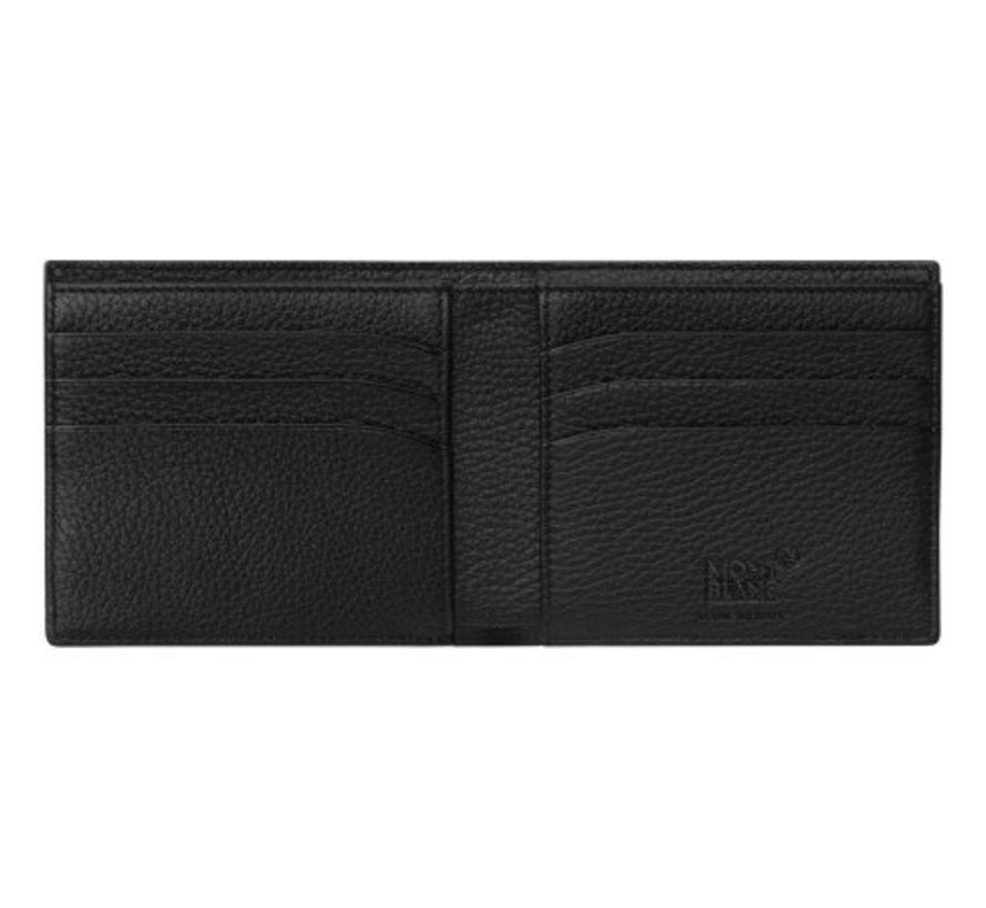 Meisterstuck Soft Grain Wallet 6cc Combi Black 118752