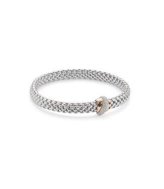 Fope armband witgoud Flex'It Vendome 542B BBRM