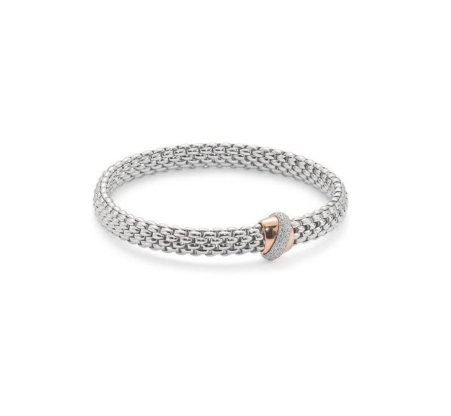 armband witgoud Flex'It Vendome 542B BBRM