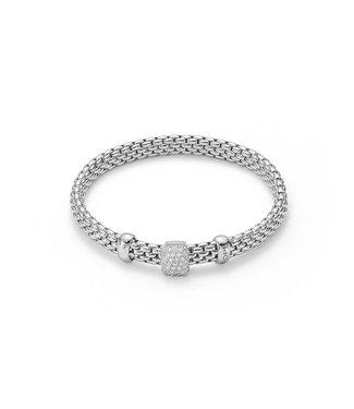 Fope armband witgoud Flex'It Vendome 561B PAVEM