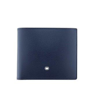 Montblanc Meisterstuck Wallet 8CC Navy-Tan 118298