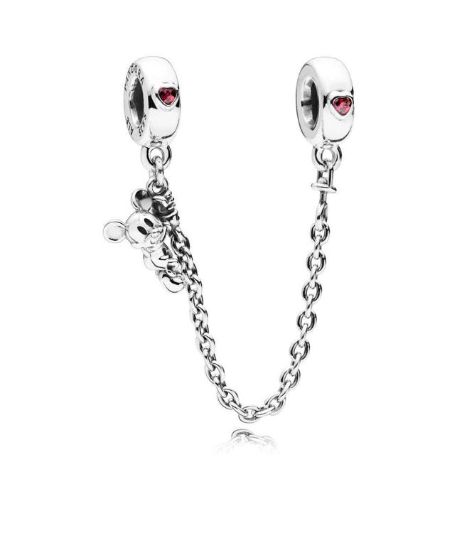 Pandora Disney, Climbing Mickey safety chain 797173CZR-05