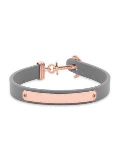 Paul Hewitt Anchor bracelet Signum Engraving Rosegold Grey PH-FSC-R-GR-BL