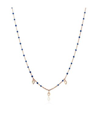 Ania Haie Connect the Dots with Turquoise Triple Raindorp necklace N006-05R
