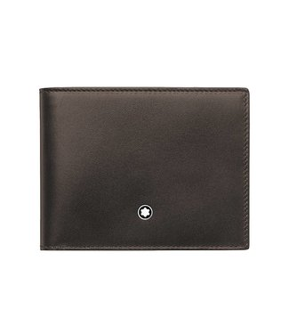 Montblanc Leather Meisterstuck Wallet 8cc Brown-Tan 118299