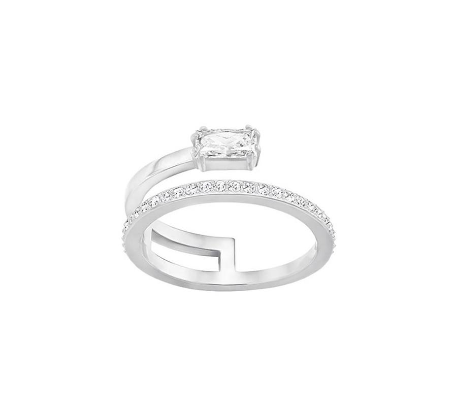 Gray ring silver