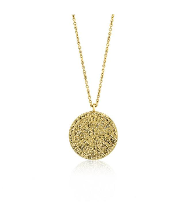 Ania Haie Coins Ancient Minoan necklace gold N009-04G