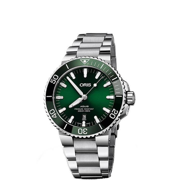 Oris Aquis Date heren horloge 0173377304157-07 8 24 05PEB