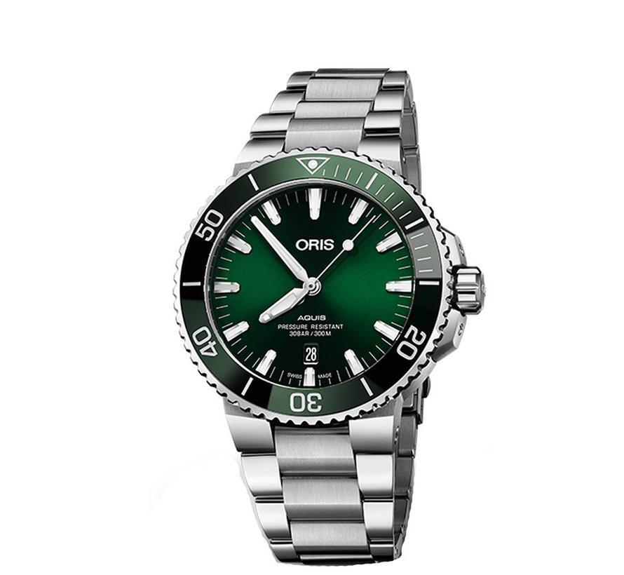 Aquis Date heren horloge 0173377304157-07 8 24 05PEB