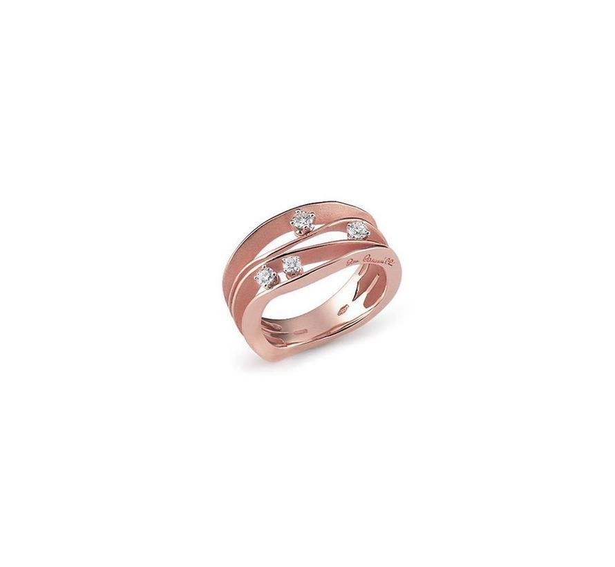 ring Dune rose gold GAN0778P
