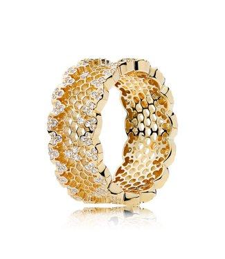 Pandora ring Honeycomb Lace 167100CZ