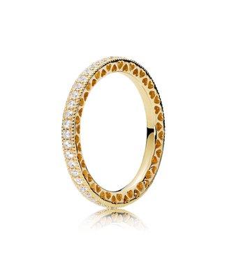 Pandora ring Hearts of Pandora 167076CZ