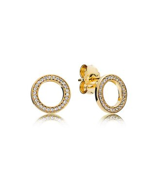 Pandora Pandora Forever earrings 267112CZ
