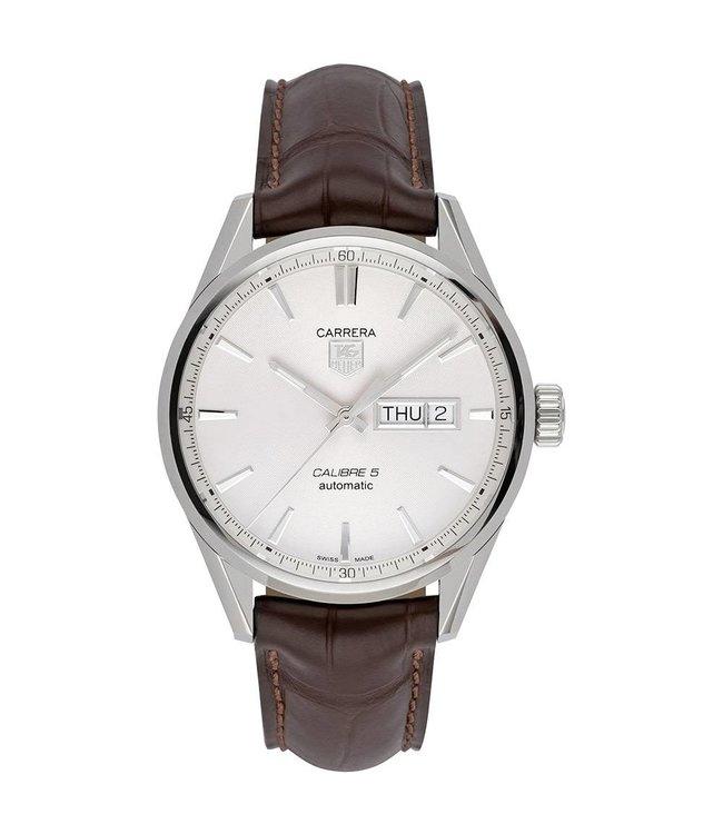 Tag Heuer Carrera heren horloge Day-Date Automatic WAR201B.FC6291