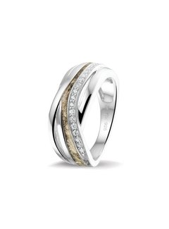 See You Gedenksieraden ring Zircon RG 013 Silver