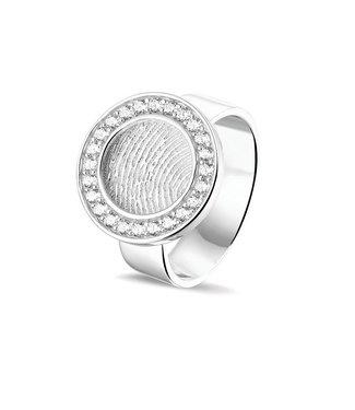 See You Gedenksieraden ring Fingerprint 410 S Silver