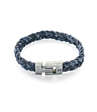 Gemini Leather Navy Blue