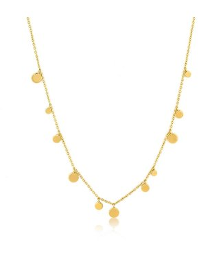 Ania Haie Geometry Class - Mixed Discs Necklace N005-01G