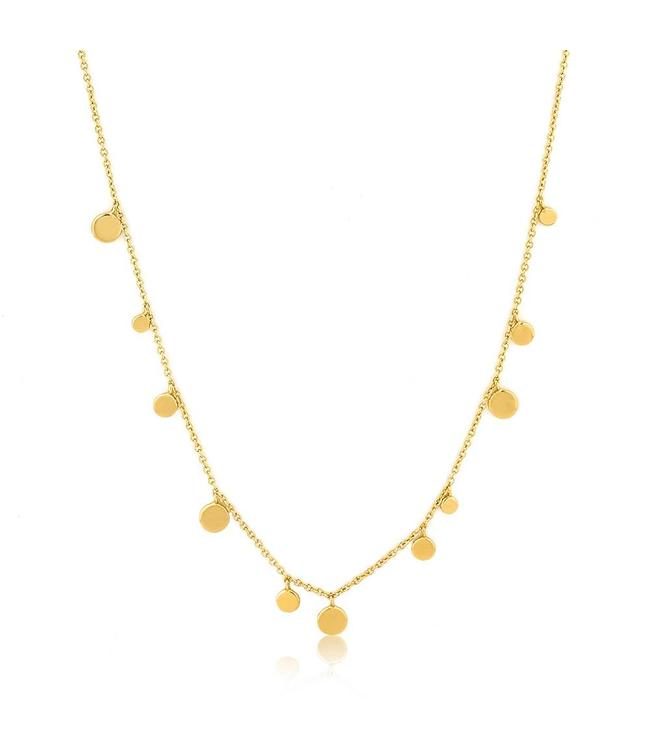 Ania Haie Geometry Class Mixed Discs Necklace N005-01G
