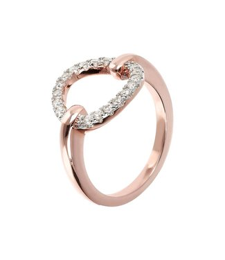 Bronzallure Fancy ring with Open Circle Elements WSBZ01266WR