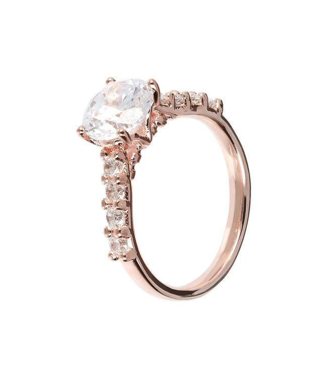 Bronzallure Shiny ring with gemstone WSBZ01276WR