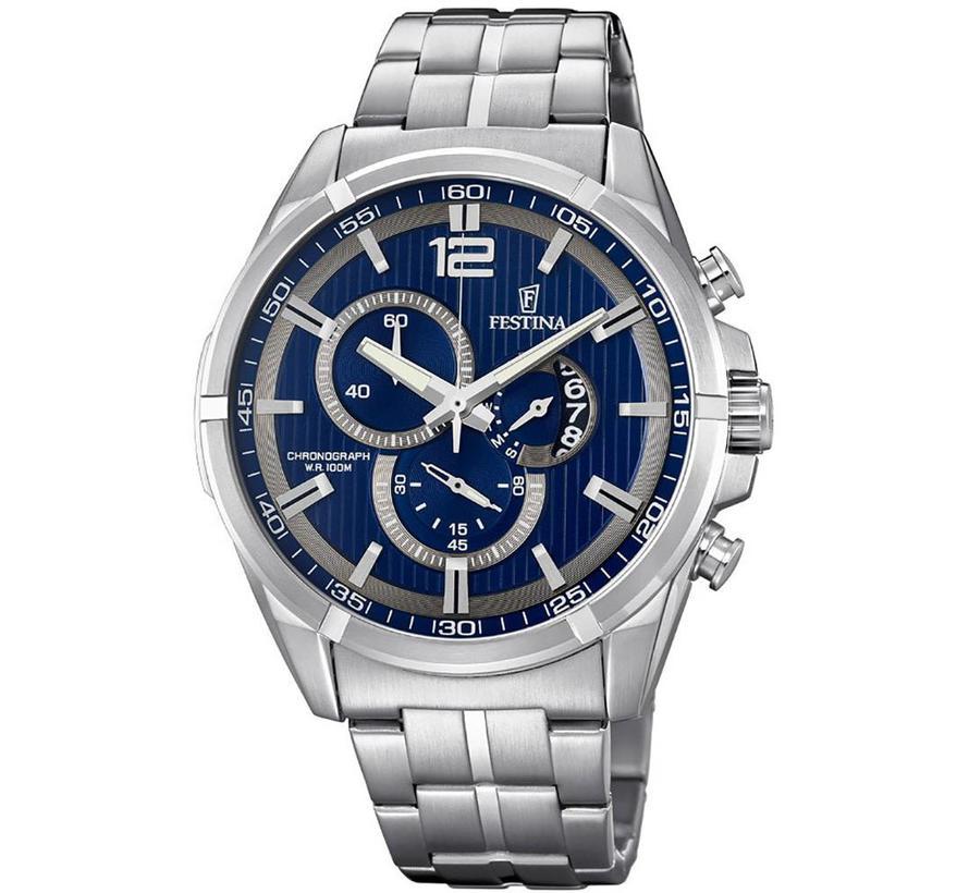 Sport Chronograph heren horloge F6865/3