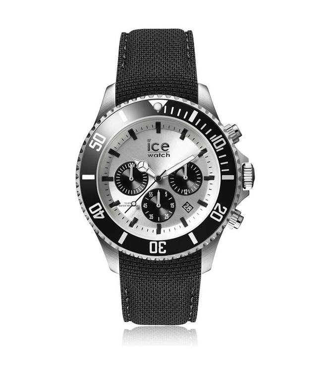Ice Watch Ice Steel Chrono Black Large 016302