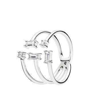 Pandora Shards of Sparkle ring 197527CZ