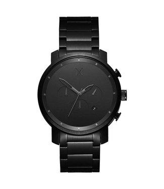 MVMT Chrono Zwart Link heren horloge MC01BB