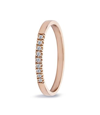 Miss Spring ring Alliance Chris chaton roségoud MSR540-9RG