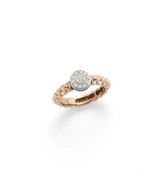Fope ring rosegoud Eka Tiny AN736 PAVE