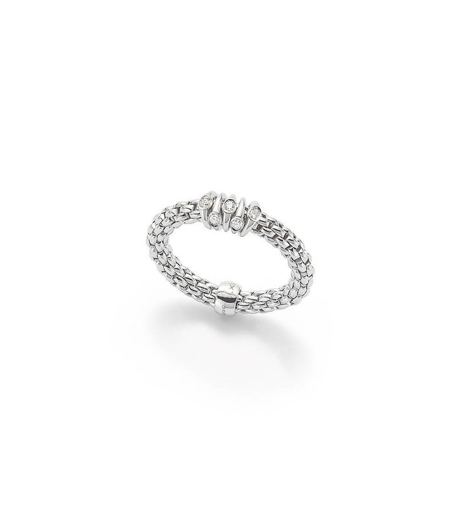 Fope ring witgoud Prima AN746 BBRM