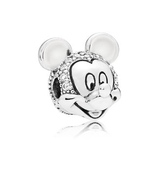 Pandora Disney, Shimmering Mickey Portrait clip 797495CZ